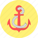 anchor, boat, ship, yacht
