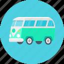 bus, camper, travel, auto, car, transport