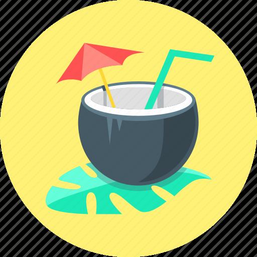 beverage, cocktail, drink, exotica, juice icon