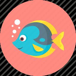 fish, fishing, sea, water icon