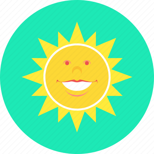 day, heat, sun, sunny, temperature, weather icon
