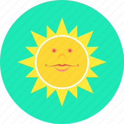 heat, summer, sun, sunny, travel, weather icon