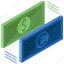 cash, currency, dollar, euro, exchange, money icon