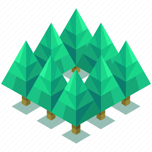 forest, outdoor, park, travel, tree, trees icon