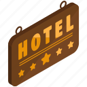 holiday, hotel, rating, sign, stars, travel icon