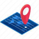 holiday, international, location, map, pointer, travel icon
