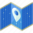 international, location, map, navigation, pointer, travel icon