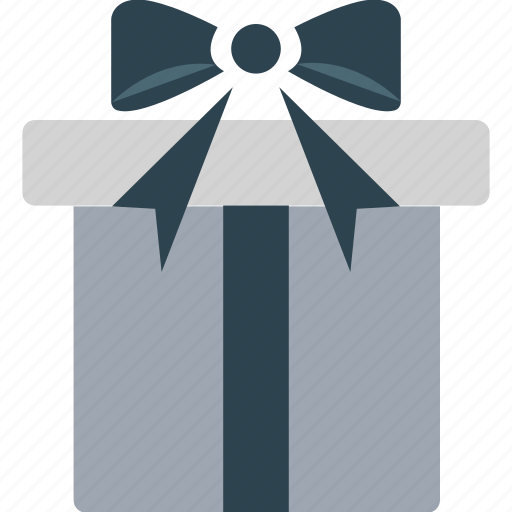 birthday gift, gift box, present, present box, wrapped gift icon
