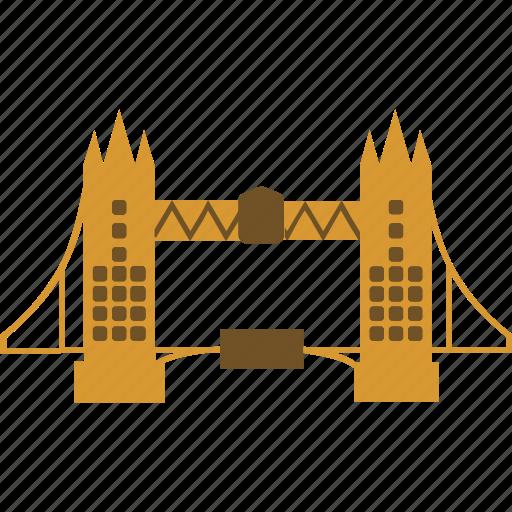 bridge, england, landmark, london bridge, tower bridge icon