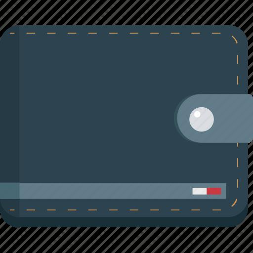 billfold wallet, cash wallet, purse, wallet icon