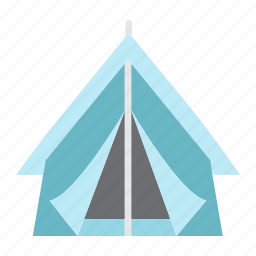 camping, outdoor, summer, tent, tourism, tourist, travel icon