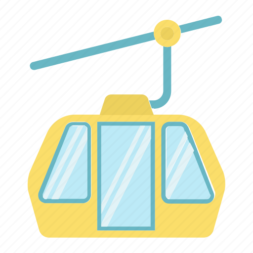 elevator, funicular, lift, mountain, tourism, transportation, travel icon