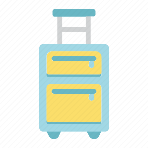 airport, bag, baggage, case, luggage, tourism, travel icon