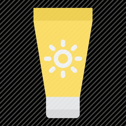 bottle, cream, summer, sun, sunblock, sunscreen, tourism icon