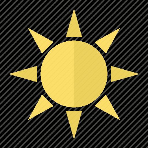 heat, hot, sun, sunshine, tourism, travel, weather icon