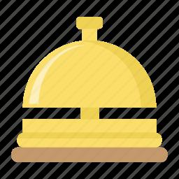 alarm, bell, hotel, reception, service, tourism, travel icon