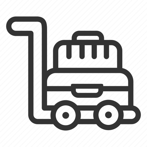Business, case, hotel, tourism, travel, trolley icon - Download on Iconfinder