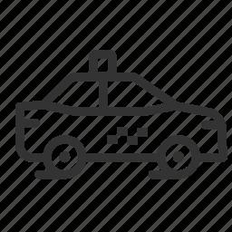car, taxi, tourism, transport, transportation, travel, vehicle icon