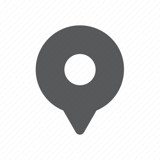 destination, gps, map, mark, pin, point, sign icon