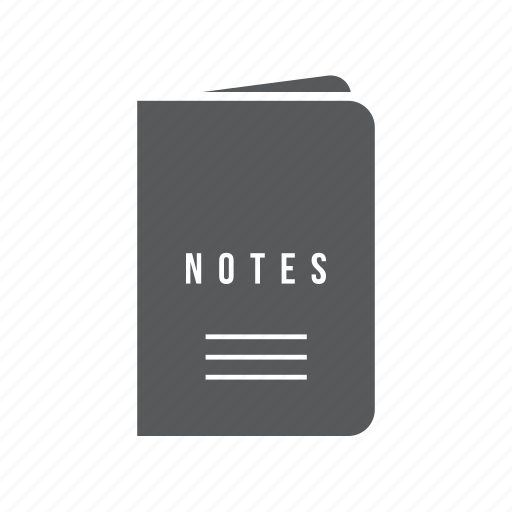 book, journal, note, notes, pocket icon