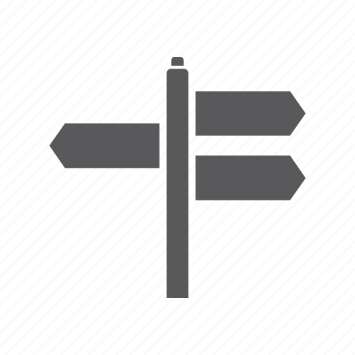direction, location, road, road sign, sign, tourism, travel icon