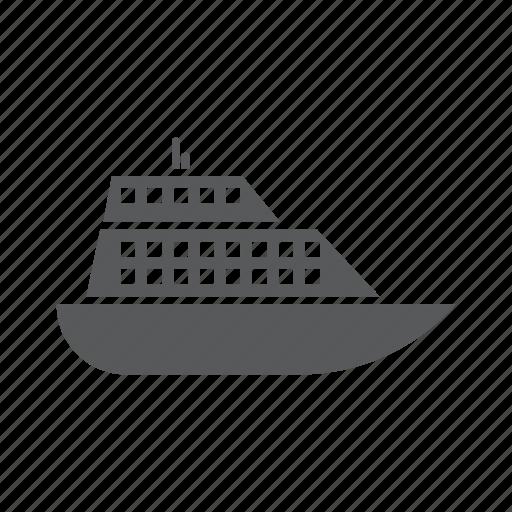 boat, sailing, sea, ship, tourism, travel, yatch icon