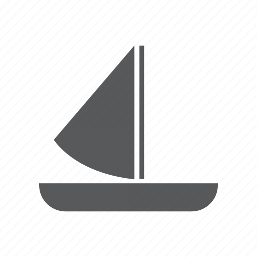 boat, sail, sailing, ship, tourism, travel icon