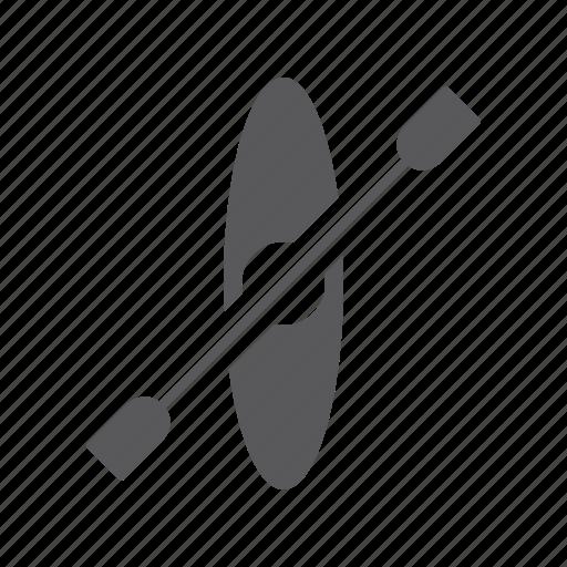 canoe, kayak, leisure, row, sport, tourism, travel icon