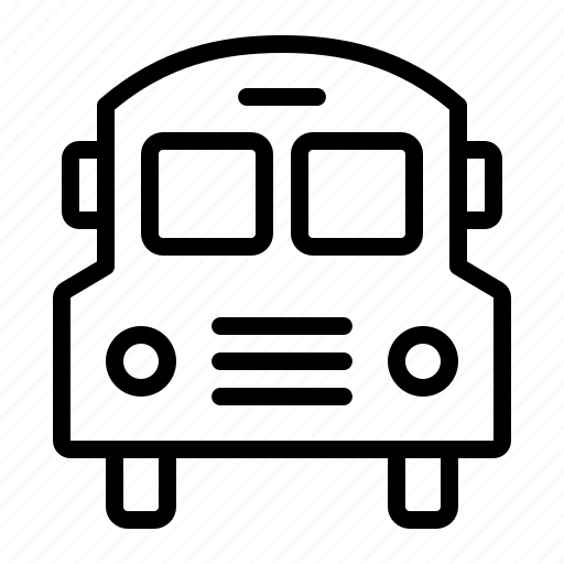 bus, school, transport, transportation, travel, van icon