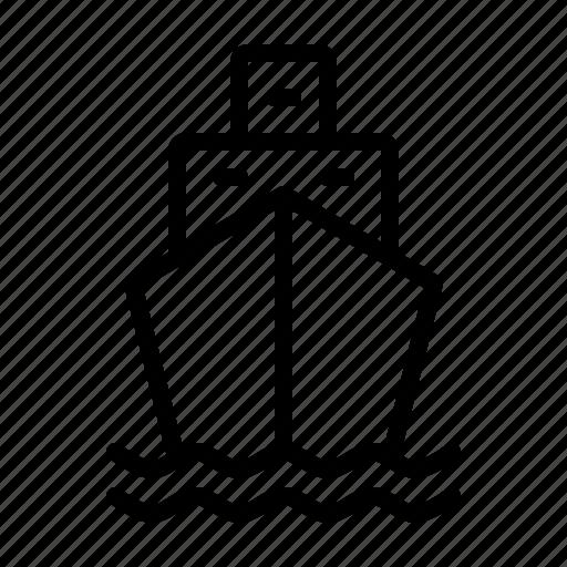sail, sailing, ship, transport, travel, water icon