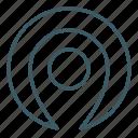 gps, location, map, mark, navigation icon