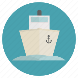 boat, cruise, freight, fun, holiday, ocean, sailing, ship, transportation, travel, vacation icon