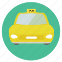 cab, car, fun, holiday, ride, road, round, taxi, transportation, travel, trip, vacation icon