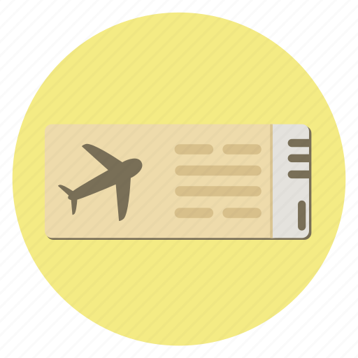 air, flight, fly, fun, holiday, pass, passort, plane, ticket, transportation, travel, vacation icon