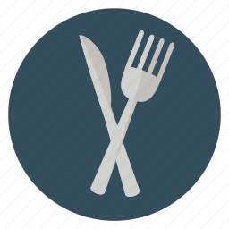 breakfast, delicious, dinner, food, fork, fun, holiday, knife, leisure, meal, restaurant, transportation, travel, vacation icon