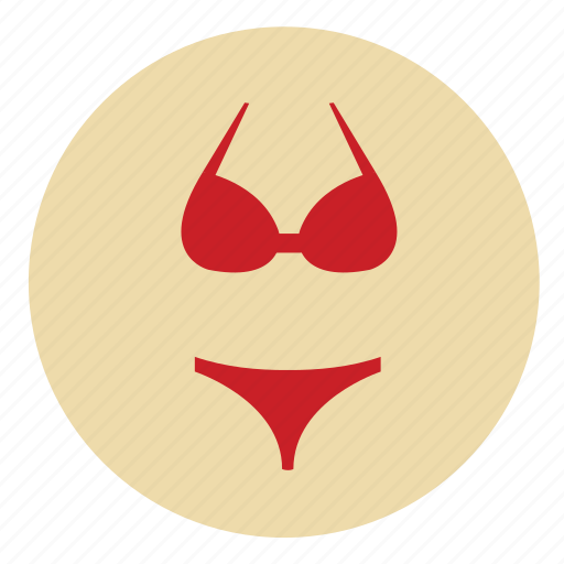 beach, bikini, bra, fun, girl, girly, holiday, sexy, slipper, swim, swimming, travel, under, underwear, wear, woman icon