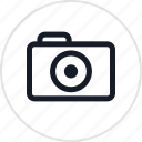 camera, digital, shot, travel icon