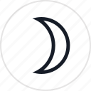 fun, light, moon, night icon