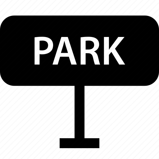 outdoor, park, parking, sign, street icon