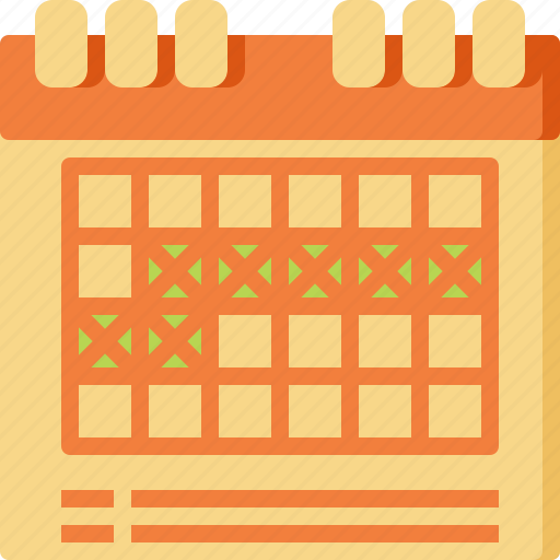 calendar, event, holiday, reminder, schedule, selection, vacation icon