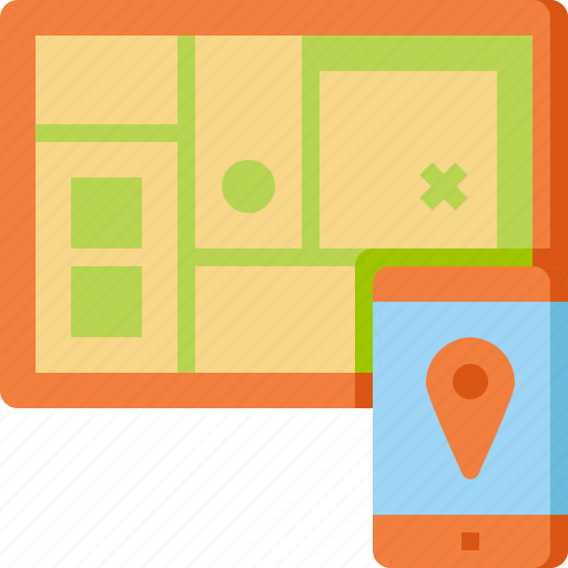 check, gps, locate, location, map, tourist, travel icon