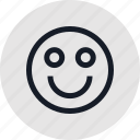 emoji, face, happy, outdoors, outside, recreation, travel icon