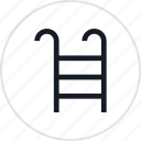 fun, ladder, outdoors, pool, recreation, travel, water icon