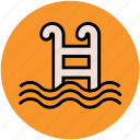 bath, leisure activity, shower, swimming, swimming pool icon