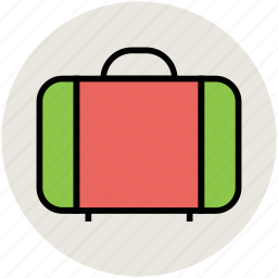 attache case, bag, briefcase, luggage, suitcase, travel bag icon