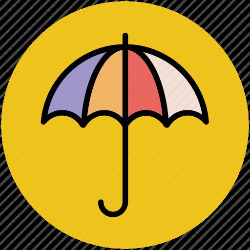 parasol, rain protection, sun protection, sunshade, umbrella icon