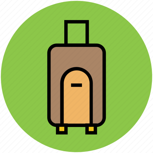 bag, luggage, luggage bag, tourism, travel, travel bag icon