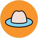 beach hat, cowboy hat, floppy hat, hat, summer hat icon