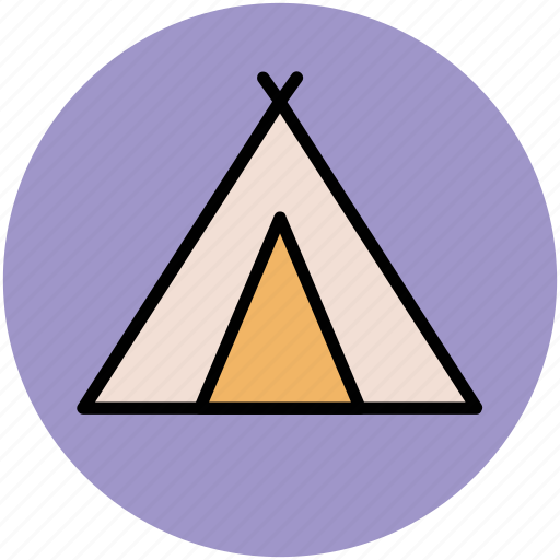 beach tent, camp, camping, tent, tent house icon