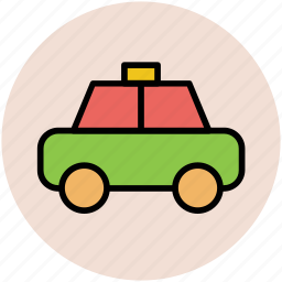 automobile, cab, car, taxi, transport, vehicle for hire icon